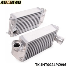 AUTOFAB - Twin Aluminum Alloy Turbo Intercooler Kit Pair Left & Right For PORSCHE 911 996 997 GT2 RS 01-09 AF-INT0024PC996