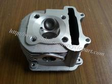 63mm big bore Cylinder Head Assembly NON-EGR for Scooter Moped ATV GO KART GY6 125 150 152QMI 157QMJ