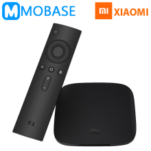 [EU-Type Charger] Xiaomi Mi Box 3 Android 6.0 TV Box 2G/8G Dual WiFi Kodi Smart TV IPTV Media Player Set Top Box Plenty of Stock