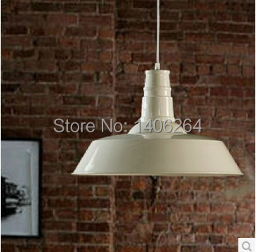 26CM Industrial Edison Vintage Iron Metal Pendant Hanging Lights Fixtures for Cafe Bar Hall Shop Club Store Restaurant Decor   <br>