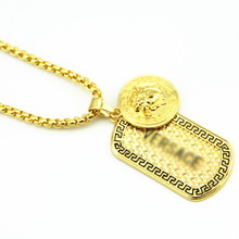 New Iced out Dog Pendant Hip Hop Necklace For Men