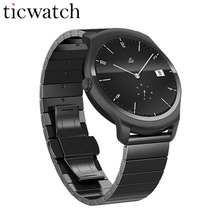Ticwatch2 Smart watch Metal MT2601 1.2GHz Waterproof 1.4'' Bluetooth 4.1 GPS Smartwatch Heart Rate Tracker 512M RAM 4G ROM