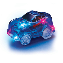 DIWEINI LED light up Magic Cars for Electronic Car Toys With Flashing Lights Fancy DIY Toy Gift For Kid Full of Magics parts(China)