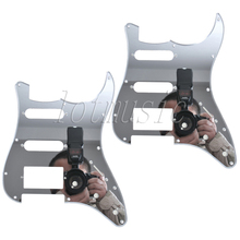 2 Mirror Surface Electric Guitar Scratch Plate SSH Pickguard For Electric Strat Replacement(China)