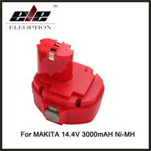 Ni-MH 14.4V 3.0Ah 3000mAh Replacement for MAKITA power tool battery 1433 1434 1435 1435F 192699-A 193158-3 ,for 1051D 1051DWD