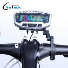 Sunding Bicycle Computer Bicycle Speed Meter Digital LCD Backlight Bicycle Computer Odometer Bike Speedometer Stopwatch
