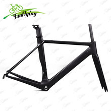 2017 aero carbon frame road bike accept OEM painting carbon frame Super Light Frame+Fork+headset carbon road frame bicycle parts