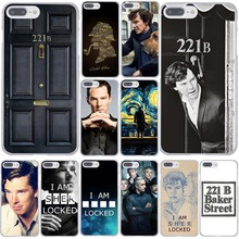 221B i am Sherlock Holmes Sherlocked Popular Hard Transparent Case Cover for iPhone 7 7 Plus 4 4s 5 5s 5c SE 6 6s Plus