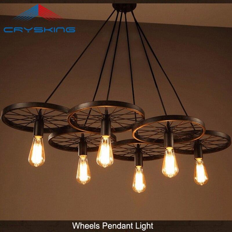 Industrial Vintage Pendant Lamp Loft Retro Lamp Copper Lamp Holder for Bar and Restaurant 110V-220V B LCD-105<br><br>Aliexpress