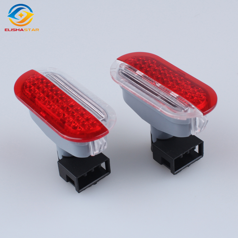ELISHASTAR (4PCS)NEW OEM  Car Door Warning Light  For 2013  POLO 6R Octavia Lavida<br>