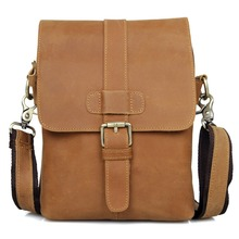 JMD Vintage Genuine Leather Men's Messenger Bags Cross Body Bags Small Sling Bag 1005B(China)