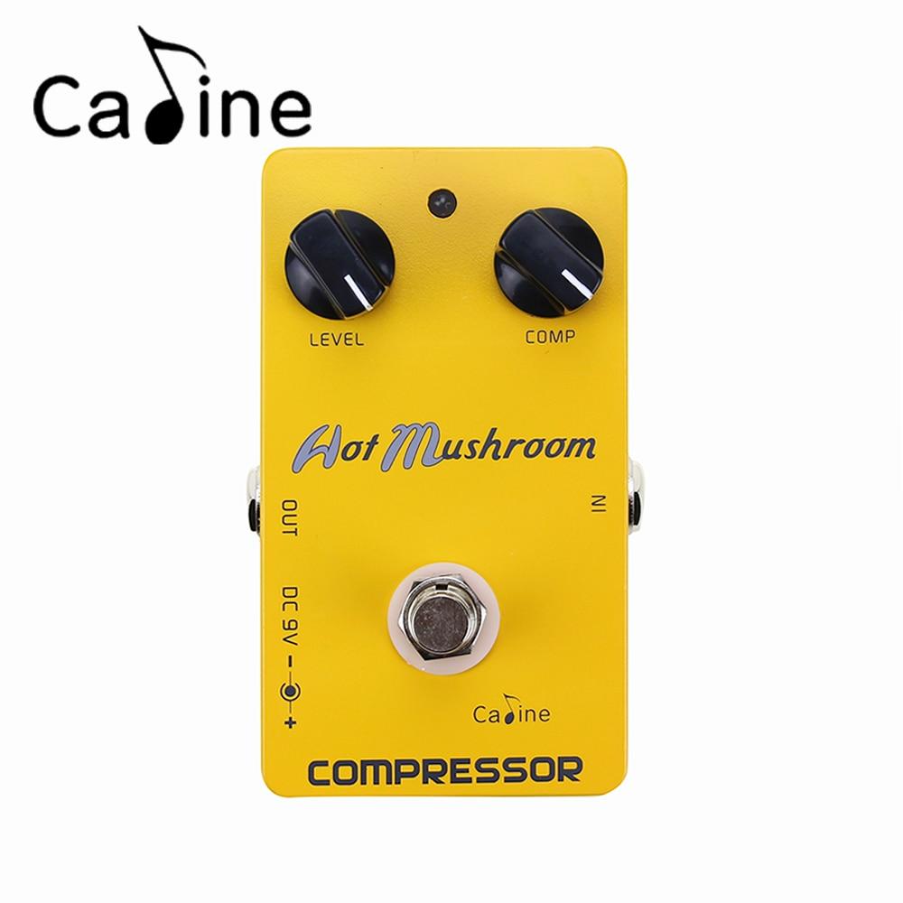 Caline CP-10 Compressor Digital Delay Guitar Effect Pedal Aluminum Alloy Housing True Bypass Guitarra Parts &amp; Accessories<br>