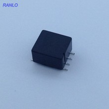 5pcs RANLO SMD DC to DC Power Transformer Toroidal Core Transformer 20T:20T working frequency: 100kHz Size: 15x10x8mm(China)