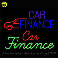 Neon Sign For Car Finance With Car Motel Arrow With Car Muscle Car Mufflers Transmission Shop Garage Display Handcraft Custom