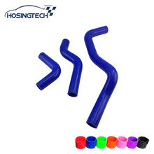 HOSINGTECH- for Hyundai Elantra high performance tuning silicone radiator hose kits 3pcs