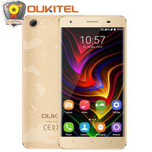 "2017 Original Oukitel C5 Pro Mobile Phone MTK6737 Quad Core 5"" HD 2GB RAM 16GB ROM 8MP Android 6.0 4G LTE Smartphone"