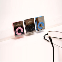 Hot Sale Mirror Clip Mini USB Digital Mp3 Music Player Portable Sport MP3 Player Support 1-8GB SD TF Card #UO