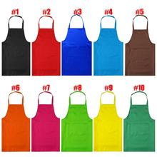 2016 Factory Price  PVC Waterproof Aprons Adjustable Sleeveless Cooking Work Aprons Kitchen Apron Schort Chef Apron