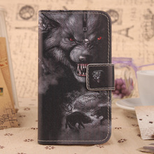 ABCTen Cartoon Book Design PU Leather Skin Protective Cover Cell Phone Flip Case For Alcatel One Touch M POP 5020D