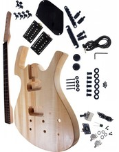 Free shipping cost parker electric guitar kits Diy electric guitar basswood body stock