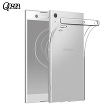 Qosea Sony Xperia XA1 Ultra Phone Case Slim Silicone Ultra-thin Transparent Soft TPU Protective Cover Coque - Shenzhen Weichuang Era Technologies Co., Ltd. Store store