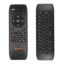 New 2.4G Fly Air Mouse Wireless Keyboard Remote Control Mini Keyboards for Android Smart TV Box Computer Raspberry Pi 3 Laptop(China)