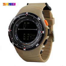 Buy SKMEI Outdoor Military Watch 50m Waterproof Electronics Wristwatches Fashion Casual LED Digital Sports Watches Men 0989 for $10.49 in AliExpress store
