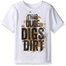 New Fashion T Shirt Graphic Letter The Children's Place Baby-Boys' Short Sleeve Graphic T-shirt