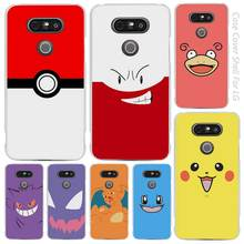 Pokemons go cartoon Clear Cell Phone Case Cover Shell for LG K3 K4 K8 K10 G3 G4 G5 G6 2017 V10 V20 K5 stylus3