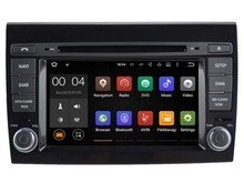 Android 7.1  Car Dvd Navi Player FOR FIAT BRAVO audio multimedia auto stereo support DVR WIFI DAB OBD all in one