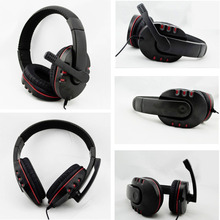 Wired 3.5mm gaming Headset Headphone Earphone Music Microphone For PS4 PlayStation 4 Game PC Chat fone de ouvido