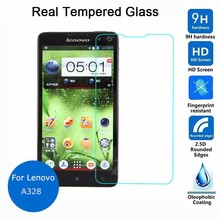 Buy Lenovo A328 Tempered glass Screen Protector 9h 0.26mm 2.5 Safety Protective Glass Film A328T 328 Guard Cover for $1.16 in AliExpress store