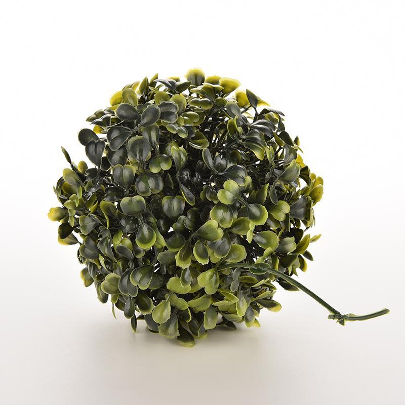 Plastic Green Foliage Green Grass Balls Wedding Party Favor Decorating Home Round Lantern Plant Ornament