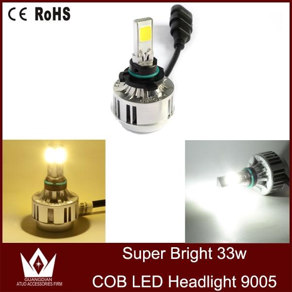 Guang Dian Car led light Headlight Kit Bulbs Lamp LED Auto COB high power White led A233 9V-16V 3300 LUMEN 3000k 6000K 9005 hb3<br><br>Aliexpress