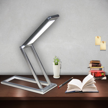 High quality intensity adjustable usb rechargeable led table lamp desk reading 2017 Christmas new listing(China)