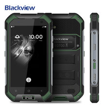 Blackview BV6000S IP68 Waterproof Mobile Phone Android 6.0 MTK6735 Quad Core 4.7 inch 4G 2GB 16GB 4200mAh GPS Glonass Smartphone(China)
