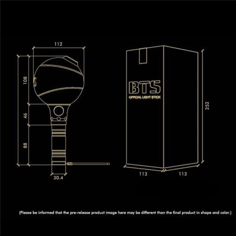 Bts luz vara do fulgor no escuro luz de plstico para a festa luzes aeproduct ccuart Images