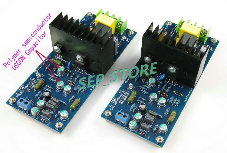 LJM Hi-end  L15D  Stero Audio Power Amplifier Board IRS2092 IRFI4019H  IRAUDAMP7S (Assembled Amp Board,Include 2 Bobards)<br><br>Aliexpress