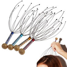 Mayitr Head Neck Scalp Massager Octopus Massage Equipment Stress Release Relax Tools Random Colors(China)
