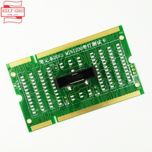 DDR2 memory slot tester card for laptop motherboard Notebook Laptop with LED