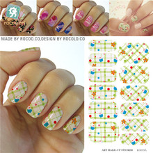 New Water Transfer Foils Nail Art Sticker Polka Dot Imperial Crown Design Manicure Decals Nail Decor Tool Nail Wraps Sticker
