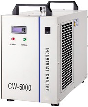 CW5000AG industry chiller for co2 laser engraving and cutting machine tube 80w to 100w