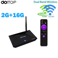 Android 7.1 Internet TV Box 2G+16G Smart RK3328 4K Quad Core HD WiFi Set-top TV Box TV Box IPTV Media Player A5X PRO(China)