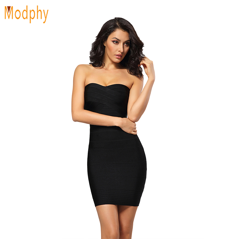 kim kardashian dress women strapless celebrity HL bandage dress 2017 womens sexy party night club mini bodycon short dress HL321