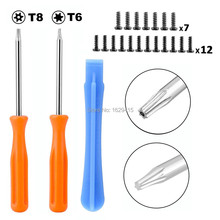 IVYUEEN Game Tools Kit For Microsoft Xbox One Elite / S Slim Controller Security Torx T8 T6 Screwdriver Tear Down Repair Tool(China)