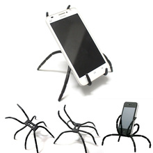 New mini spider tripod for iphone Huawei Sanmsung Xiaomi portable lightweight flexible tripod for Ipad camera(China)