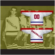 Custom XS-5XL Brooklyn Americans 1941-42 Hockey Jersey Stitch Sewn Any Name Or Number Free Shipping(China)