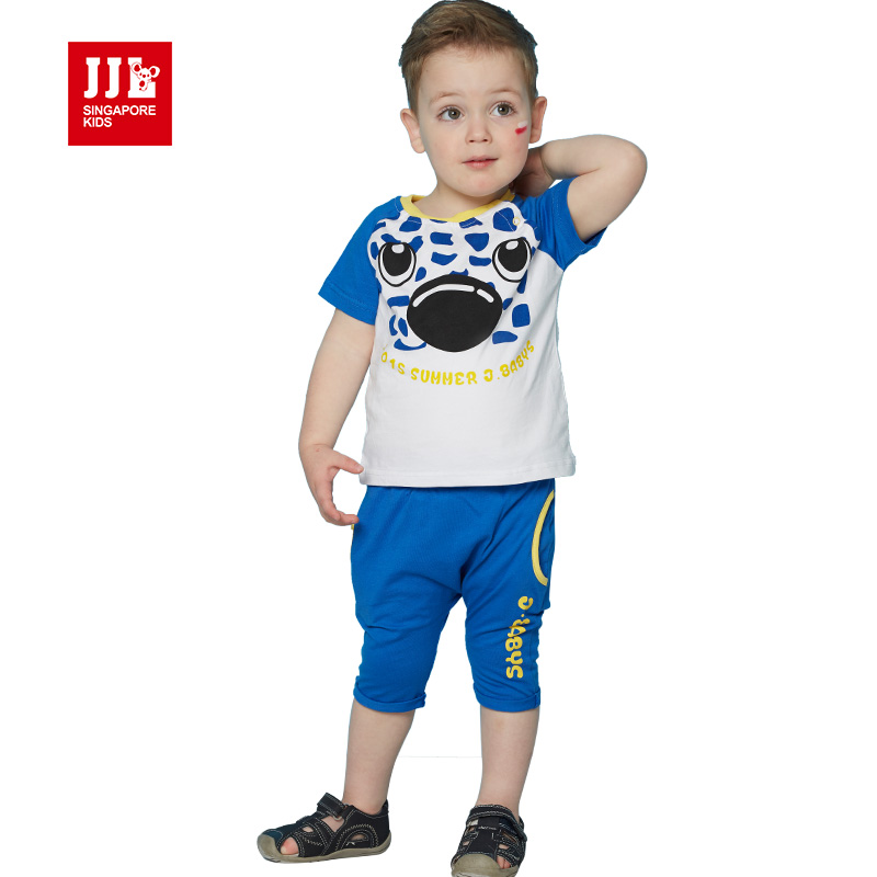 baby clothing set boys clothes suit 2017 brand infant clothes set for 0-3T baby summer wear 2piece set newborn clothes outfits<br><br>Aliexpress