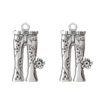 Buy 10pc/lot Alloy Jeans Pants Charms Antique Silver Tone Diy Charms Bracelet Necklace Pendant Jewelry Findings Making 34*19mm for $1.31 in AliExpress store