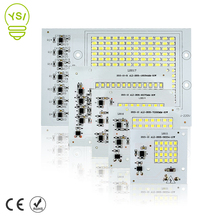 Smart IC LED Lamp Chip 10W 20W 30W 50W 90W LED Light Chip SMD 220V 230V For DIY LED Floodlight Cold /Warm White Bulb Lamp(China)
